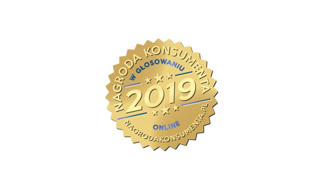 Godło nagroda konsumenta 2019