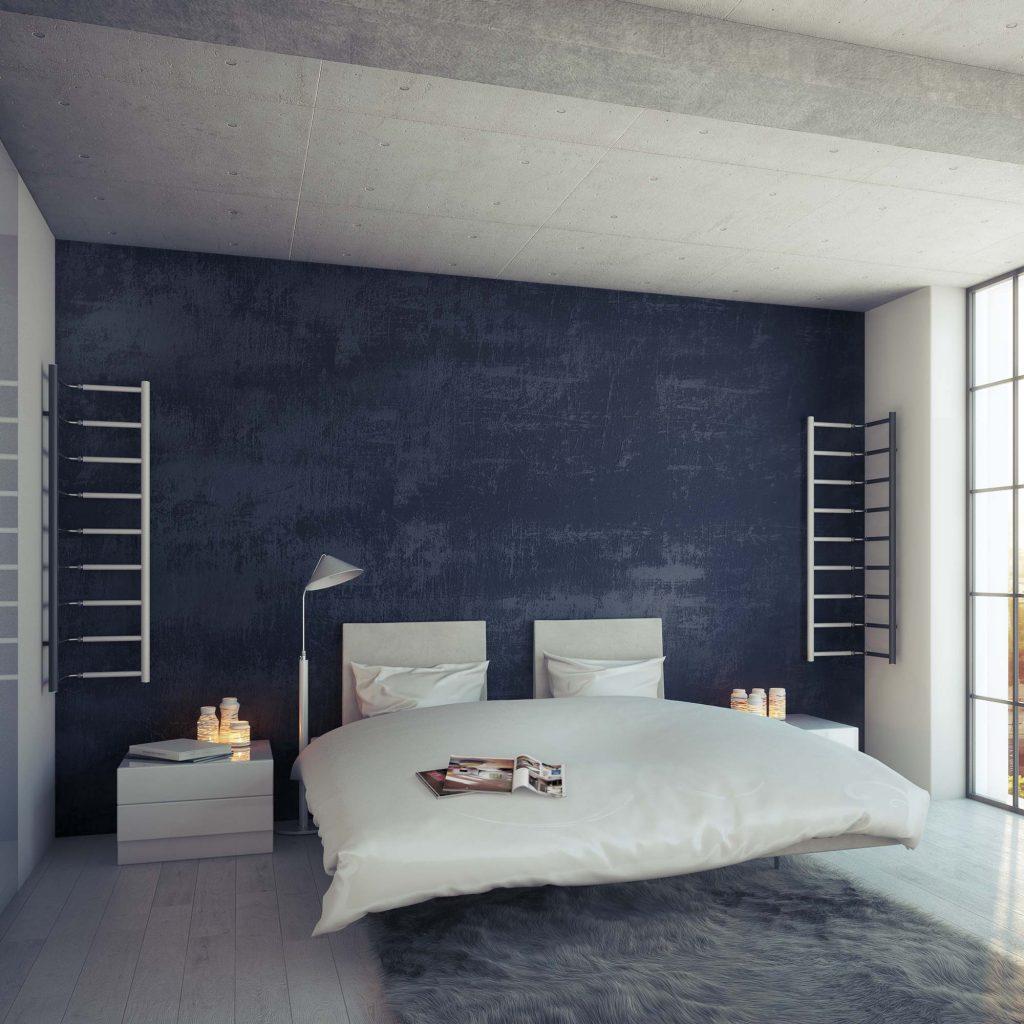 Grzejnik Flexi FL wnętrze sypialnia